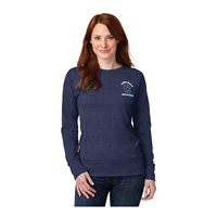 Ladies Heather Blue Sweatshirt