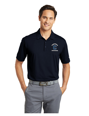 Men's Navy Nike Dri-Fit Polo