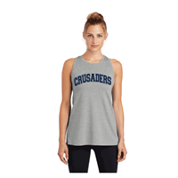 Ladies Grey Tank