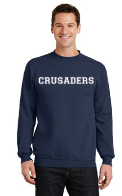 Unisex Crew Neck Sweatshirt Navy